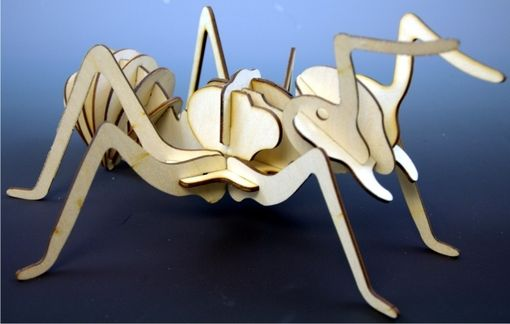 Custom Made 3-D Ant Puzzle