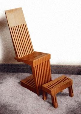 Custom Made Cantelever Chair