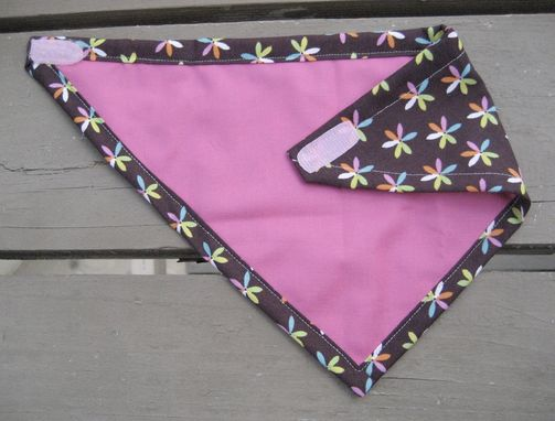 Custom Made Flower Child Bandana Bib For Baby