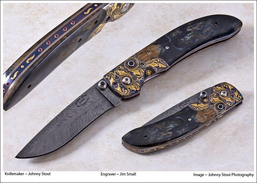 Custom Made The Zodiac by Johnny Stout Custom Made Knives