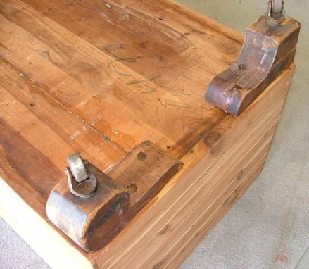 Custom Made Restored Antique Cedar Chest
