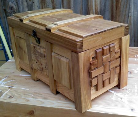 Custom Made Woven Wood Box