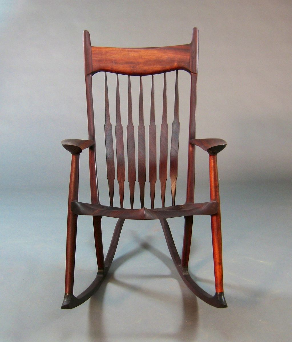 Handmade Pauduk Maloof Inspired Rocking Chair By Gerspach