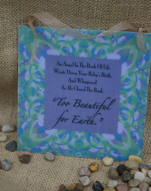 Custom Made Too Beautiful For Earth Wall Art