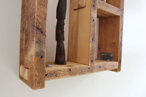 Custom Made Reclaimed Wall Shelf