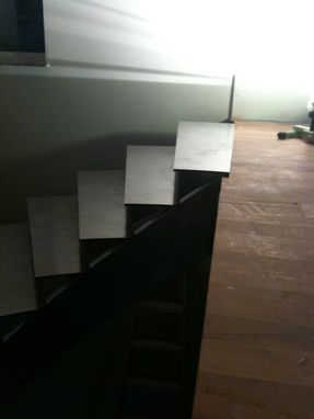 Custom Made Steel Staircase And Balustrade
