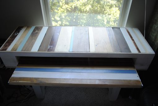 Custom Made Calico Desk--Made From Reclaimed Wood