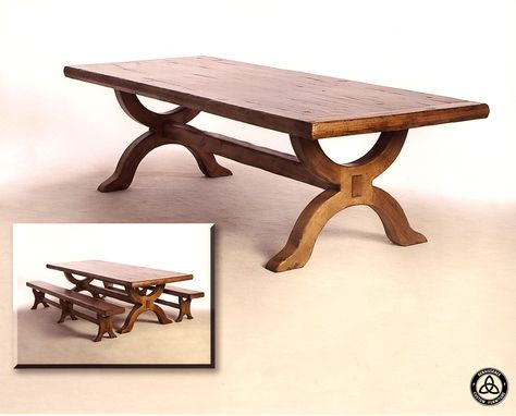 Custom Made #422 Knotty Alder Dining Table