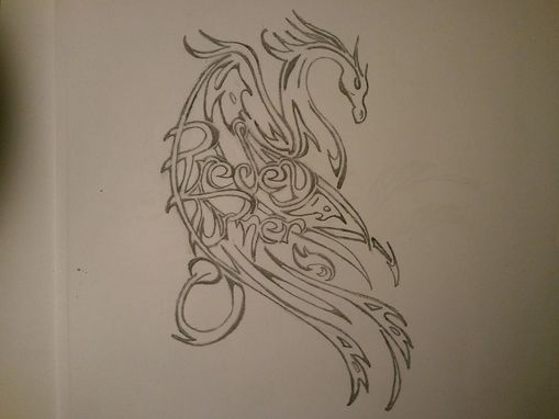 Custom Made Tattoo Sketches