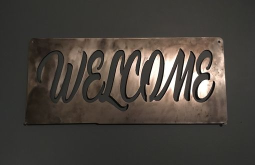 Custom Made Personalized Plasma Cut Signs