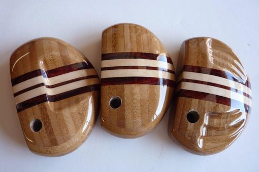Custom Made Three Sample Bamboo Heads