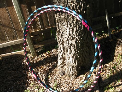 Custom Made Budget Hula Hoop - Collapsible Travel Hula Hoop - Weighted - Any Color