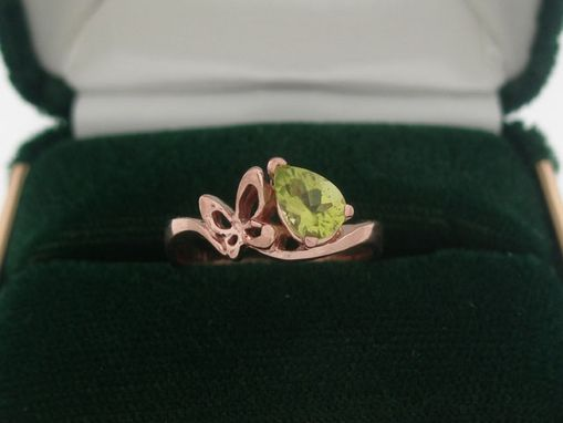 Custom Made Butterfly Memory Ring