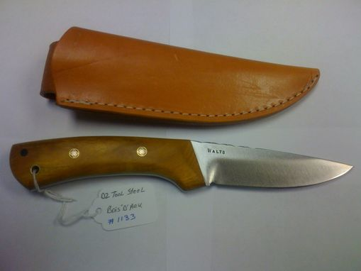 Custom Made Handmade Hunting Knife.