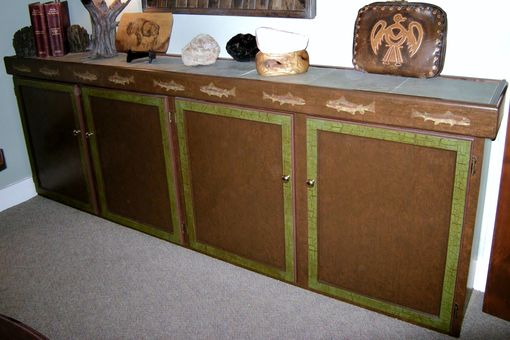 Custom Made Office Credenza