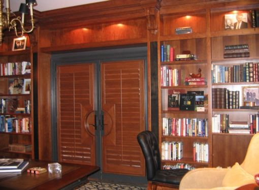 Custom Made Cherry Home Library
