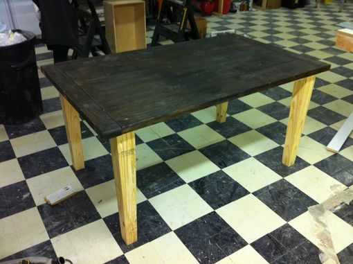 Custom Made Pine Farmhouse Table