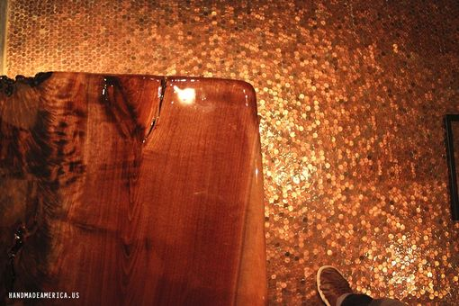 Custom Made Penny Floor