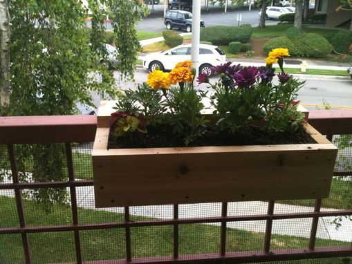 Custom Made Simple Flower Boxes