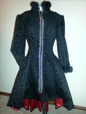 Custom Made Princess High -Low Coatdress