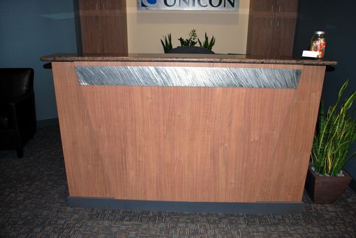Custom Made Corporate Reception Desk