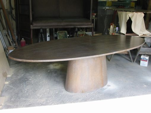 Custom Made Oval Table