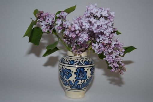 Custom Made Romanian Handmade Ceramic Vase