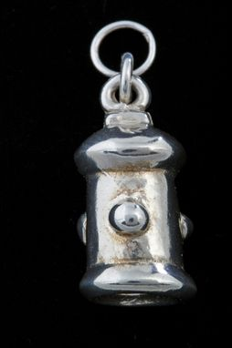 Custom Made Large Fire Hydrant Charm