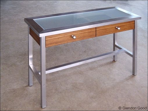 Custom Made Contemporary Entry Table