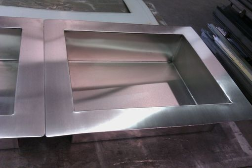 Custom Made Stainless Steel Ice Tubs
