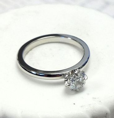 Custom Made Kerstin And Alan's Engagement Ring