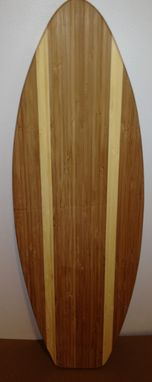 Custom Made 2 Ft Bamboo Wood Surfboard Unfinished Unpainted