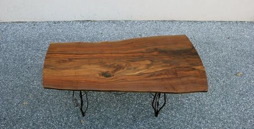 Custom Made Claro Walnut Slab Table Top