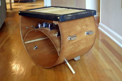 hand crafted upcycled drum stick furniture by tim sway perspectives. Black Bedroom Furniture Sets. Home Design Ideas