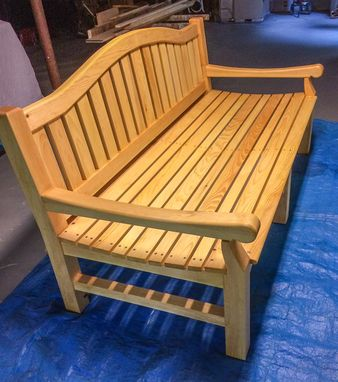 Custom Made Lounging Bench