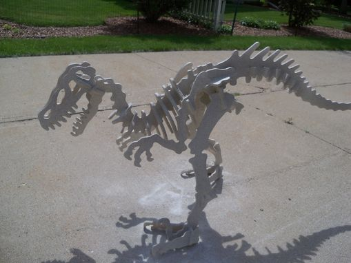 Custom Made Velociraptor (Plywood)