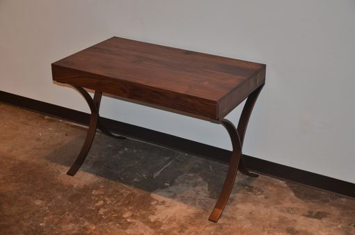 Custom Made Black Walnut Writing Desk