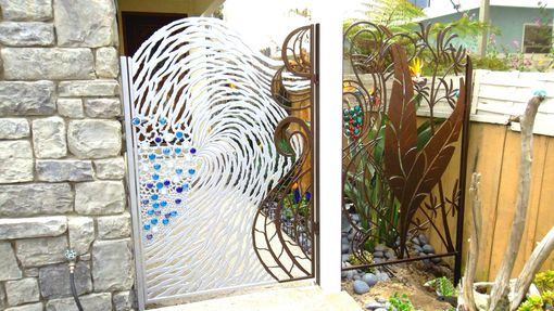 Custom Made Ocean Paradise Gate
