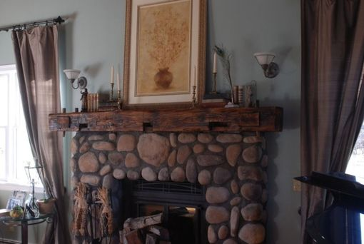 Custom Made Custom Reclaimed Timber Mantle