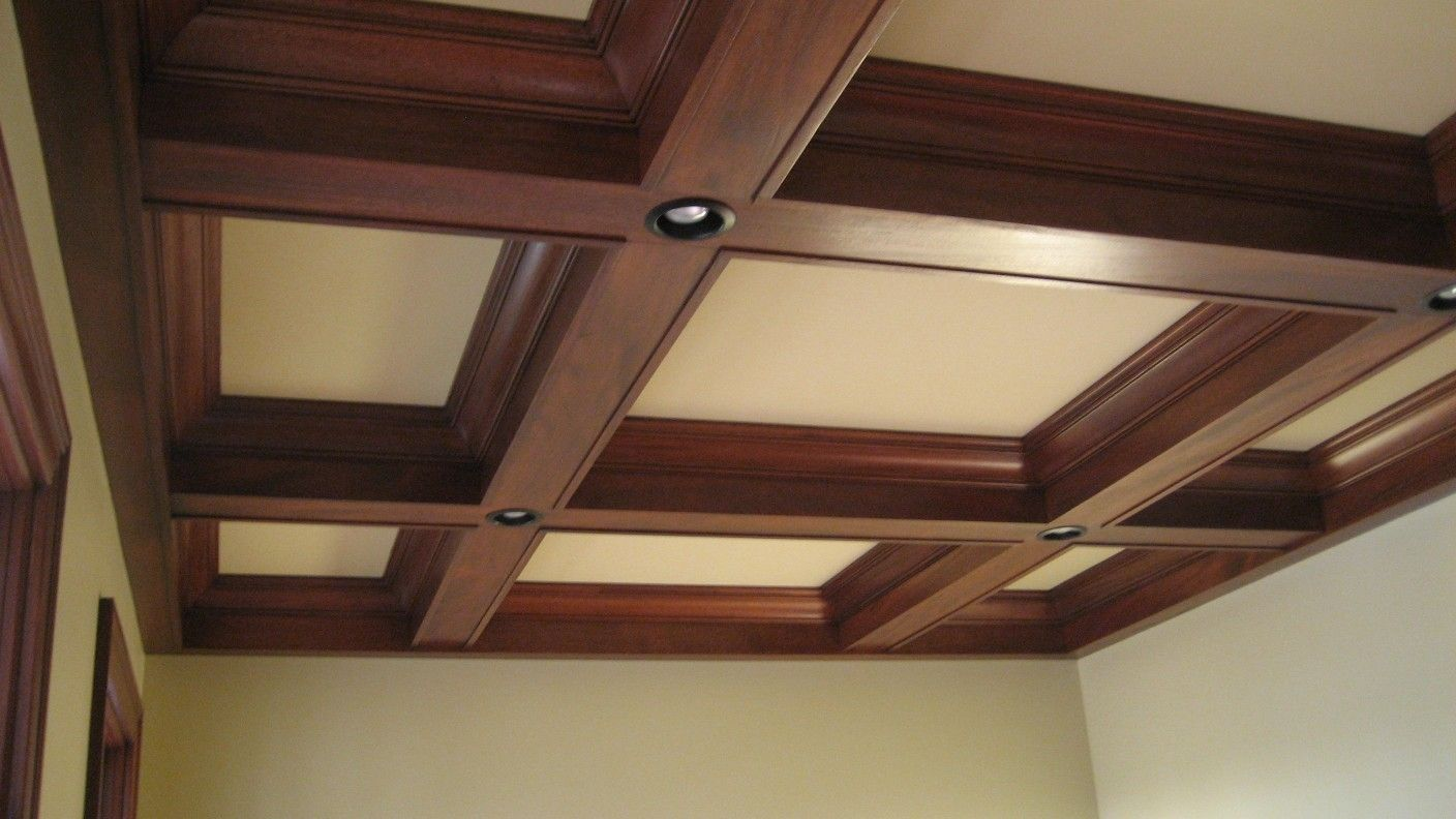 Custom Made Beam Ceiling