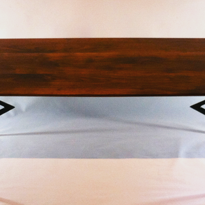 Hand Made Custom Reproduction Mid Century Modern End