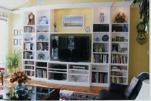 Custom Made Office Cabinets & Entertainment Center