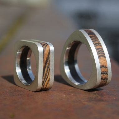 Custom Made Wood Wedding Bands