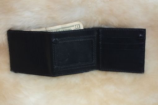 Custom Made Tri-Fold Leather Wallet