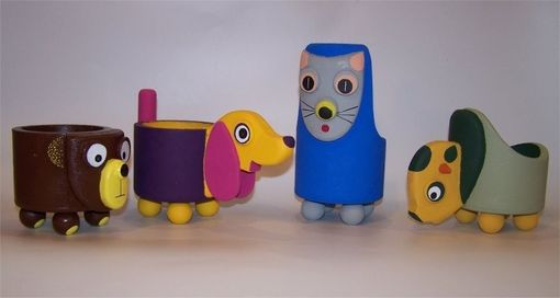 Custom Made Whimsical Animal Containers