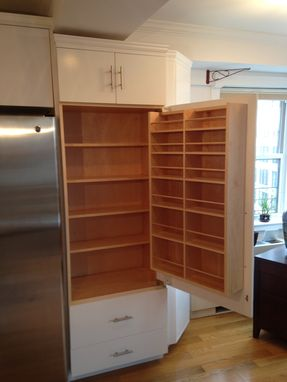 Custom Made Built In Pantry
