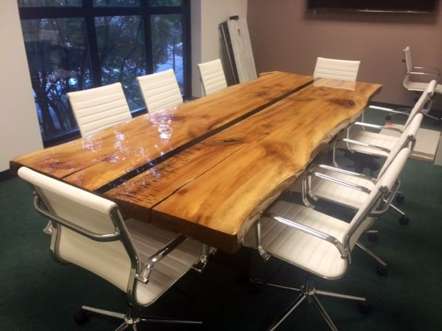 Custom Made 10 Live Edge Conference Table By Argos Furniture Co CustomMadecom