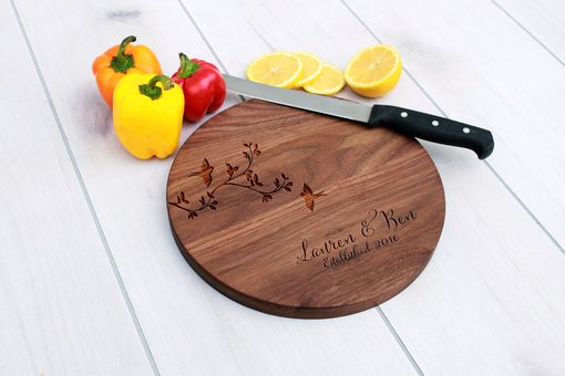 Custom Made Personalized Cutting Board, Engraved Cutting Board, Custom Wedding Gift – Cbr-Wal-Laurenben