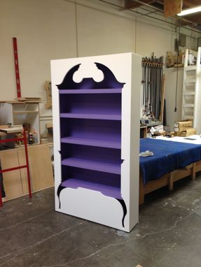 Custom Made Inside-Out Chippendale Armoire