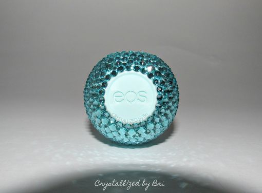 Custom Made Crystallized Eos Lip Balm Made With Swarovski Crystals - Any Flavor!